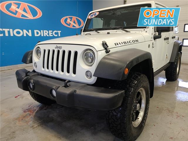 2015 Jeep Wrangler Unlimited Rubicon (Stk: 22589A) in Lower Sackville - Image 1 of 13