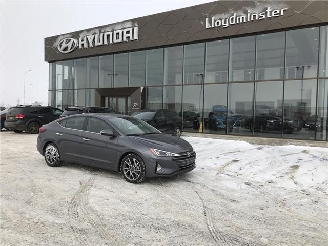 2019 Hyundai Elantra Luxury (Stk: 9EL2130) in Lloydminster - Image 1 of 6