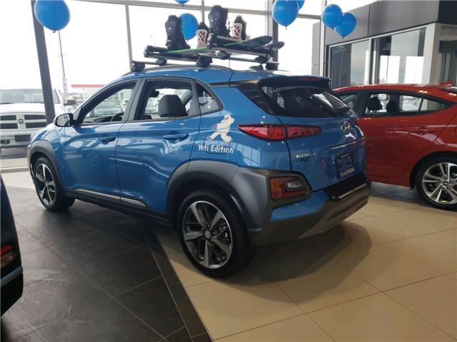 2018 Hyundai KONA 1.6T Ultimate (Stk: 8KO3186) in Lloydminster - Image 2 of 9