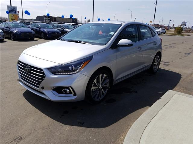 2019 Hyundai Accent Ultimate (Stk: 9AC1164) in Lloydminster - Image 2 of 5