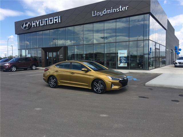 2019 Hyundai Elantra Sport (Stk: 9EL5669) in Lloydminster - Image 1 of 6