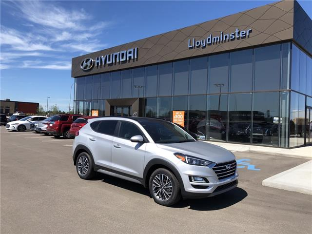 2019 Hyundai Tucson Luxury (Stk: 9TU7667) in Lloydminster - Image 1 of 8