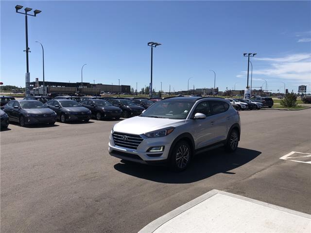 2019 Hyundai Tucson Luxury (Stk: 9TU7667) in Lloydminster - Image 2 of 8
