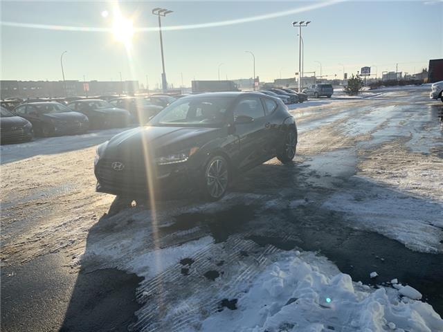 2020 Hyundai Veloster Luxury (Stk: 0VE3235) in Lloydminster - Image 2 of 8