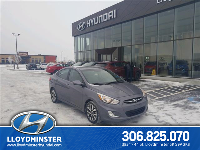 2017 Hyundai Accent SE (Stk: P1242) in Lloydminster - Image 1 of 14
