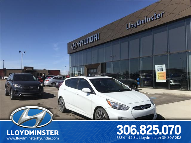2015 Hyundai Accent SE (Stk: 9EL5977A) in Lloydminster - Image 1 of 10