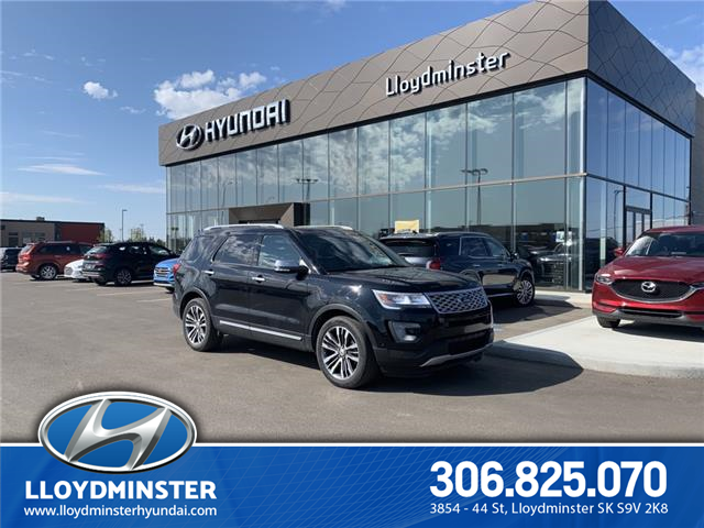 2017 Ford Explorer Platinum (Stk: 0PA3725A) in Lloydminster - Image 1 of 15