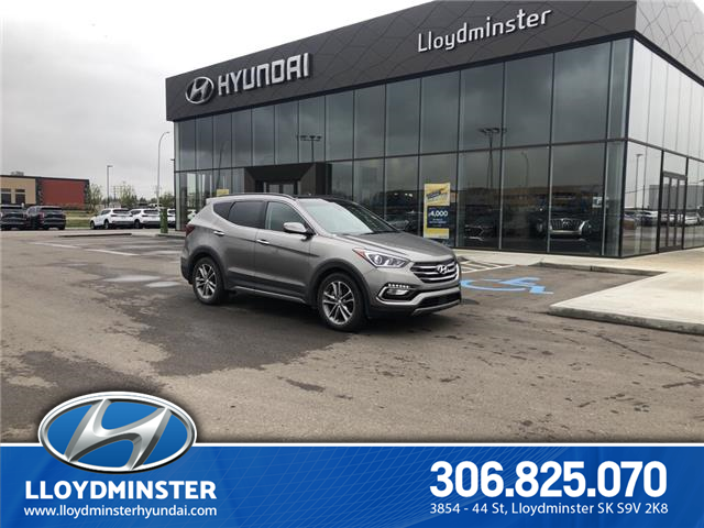 2017 Hyundai Santa Fe Sport 2.0T Ultimate (Stk: 9SA8531A) in Lloydminster - Image 1 of 13