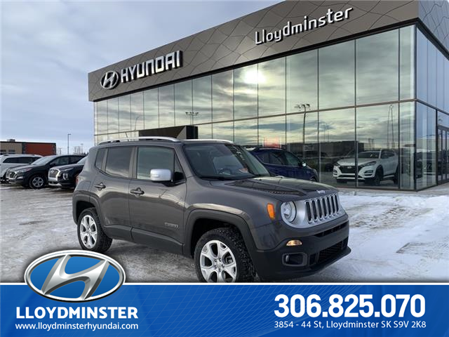 2017 Jeep Renegade Limited (Stk: 0KO5940A) in Lloydminster - Image 1 of 19