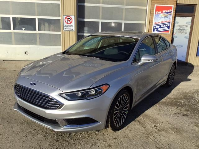 2018 Ford Fusion SE (Stk: 18-53) in Kapuskasing - Image 1 of 8
