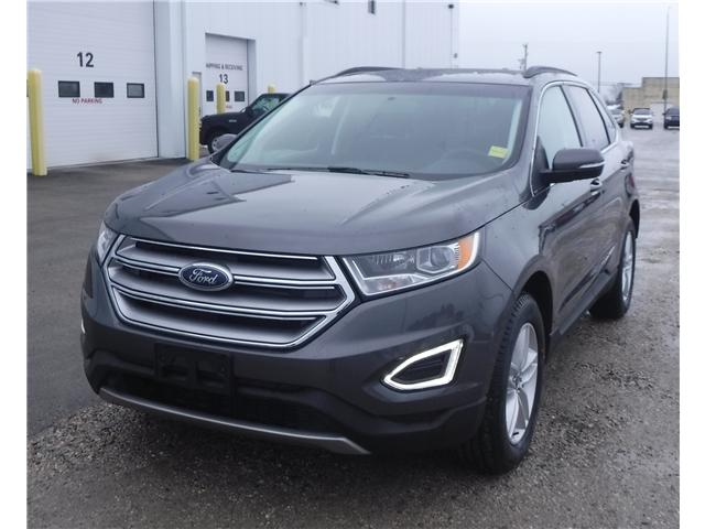 2017 Ford Edge SEL (Stk: U-3710) in Kapuskasing - Image 1 of 3