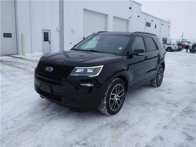 2019 Ford Explorer Sport (Stk: 19-28) in Kapuskasing - Image 1 of 10