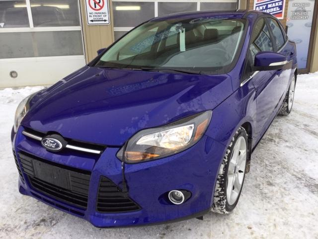 2013 Ford Focus Titanium (Stk: U-3762) in Kapuskasing - Image 1 of 8