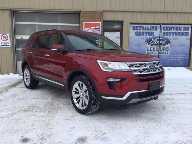 2019 Ford Explorer Limited (Stk: 19-73) in Kapuskasing - Image 1 of 7