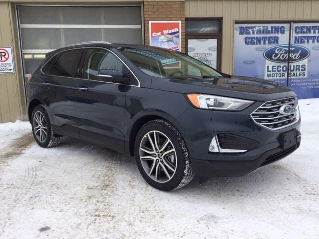 2019 Ford Edge Titanium (Stk: 19-127) in Kapuskasing - Image 1 of 7
