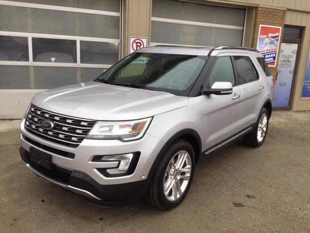 2017 Ford Explorer Limited (Stk: U-3734) in Kapuskasing - Image 1 of 9