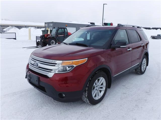 2014 Ford Explorer XLT (Stk: U-3740) in Kapuskasing - Image 1 of 10
