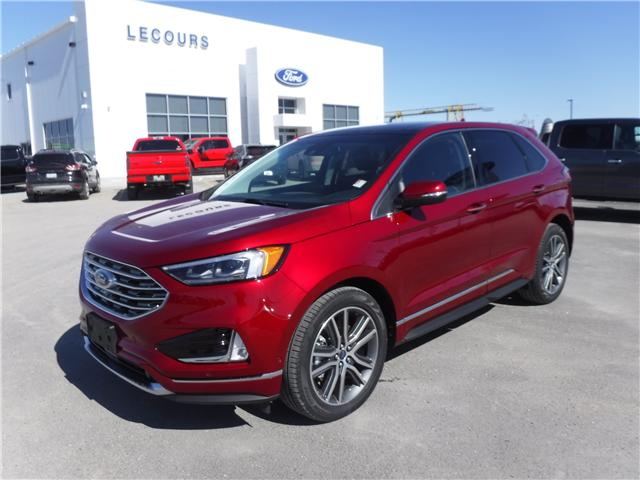 2019 Ford Edge Titanium (Stk: 19-99) in Kapuskasing - Image 1 of 11