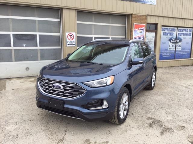 2019 Ford Edge Titanium (Stk: 19-368) in Kapuskasing - Image 1 of 8