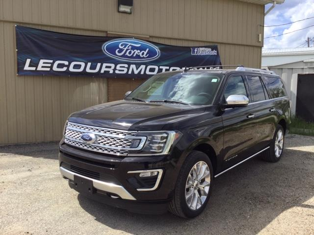 2019 Ford Expedition Max Platinum (Stk: 19-367) in Kapuskasing - Image 1 of 8