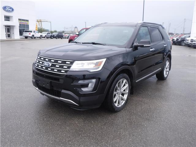 2017 Ford Explorer Limited (Stk: U-3974) in Kapuskasing - Image 1 of 13