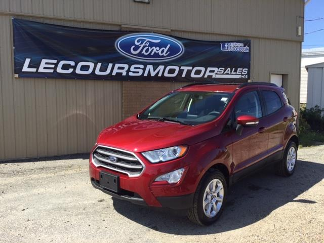 2019 Ford EcoSport SE (Stk: 19-286) in Kapuskasing - Image 1 of 8
