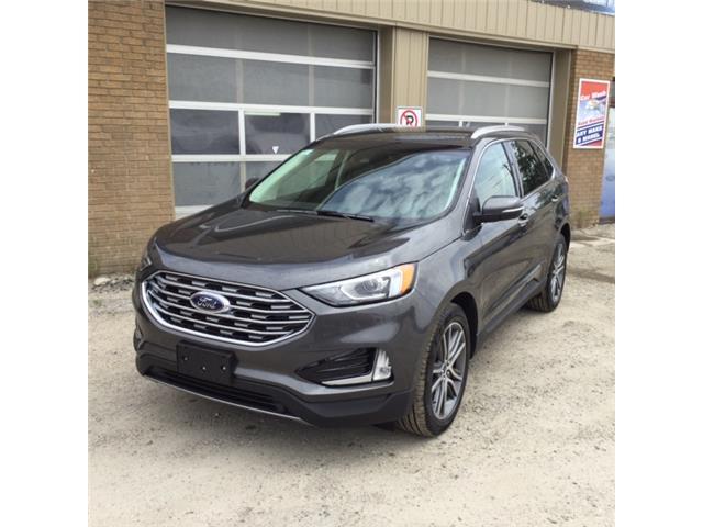 2019 Ford Edge Titanium (Stk: 19-378) in Kapuskasing - Image 1 of 9