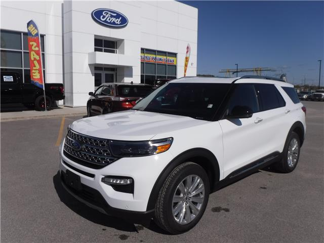 2020 Ford Explorer Limited (Stk: 20-10) in Kapuskasing - Image 1 of 10