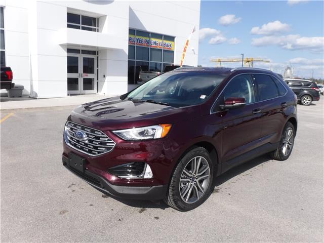 2019 Ford Edge Titanium (Stk: 19-498) in Kapuskasing - Image 1 of 9