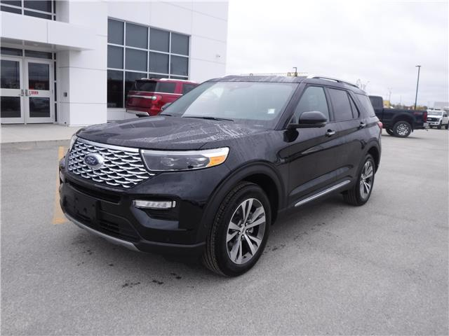 2020 Ford Explorer Platinum (Stk: 20-05) in Kapuskasing - Image 1 of 10