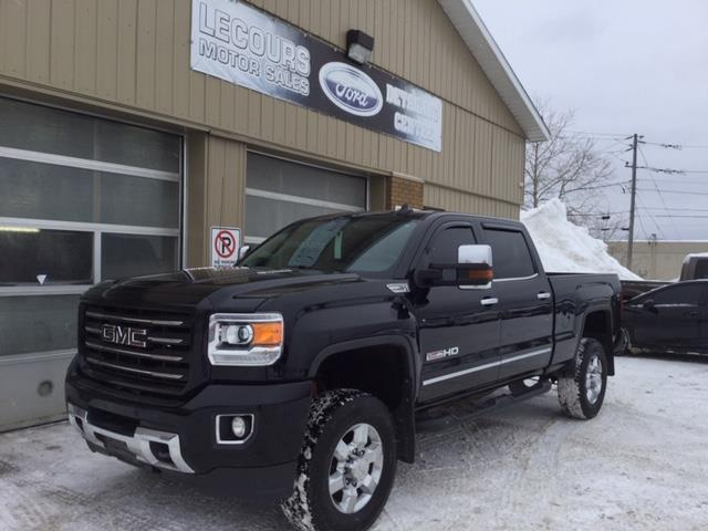 2015 GMC Sierra 2500HD SLT (Stk: U-4021) in Kapuskasing - Image 1 of 8