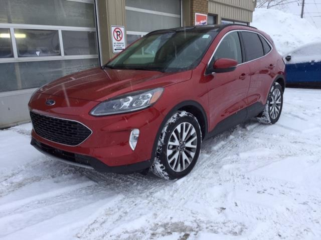 2020 Ford Escape Titanium Hybrid (Stk: 20-65) in Kapuskasing - Image 1 of 8