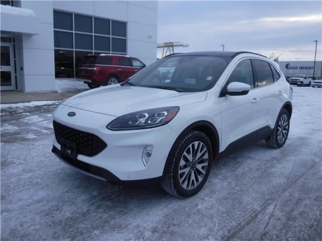 2020 Ford Escape Titanium Hybrid (Stk: 20-112) in Kapuskasing - Image 1 of 9