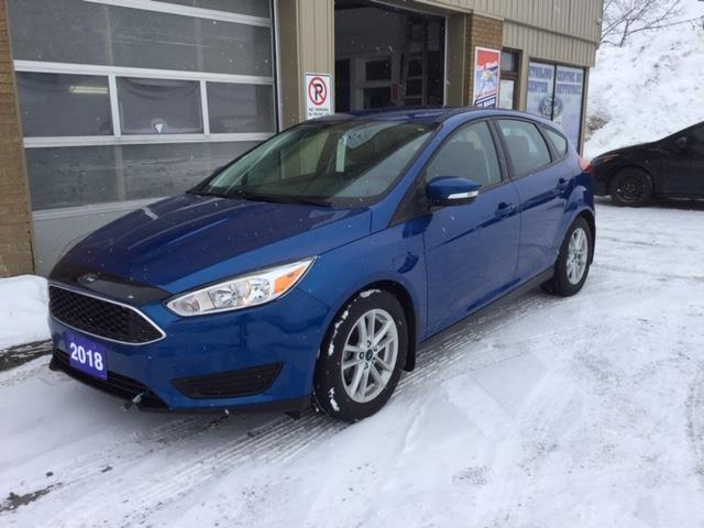 2018 Ford Focus SE (Stk: U-4101) in Kapuskasing - Image 1 of 14