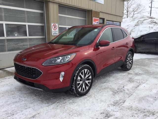 2020 Ford Escape Titanium Hybrid (Stk: 20-205) in Kapuskasing - Image 1 of 8