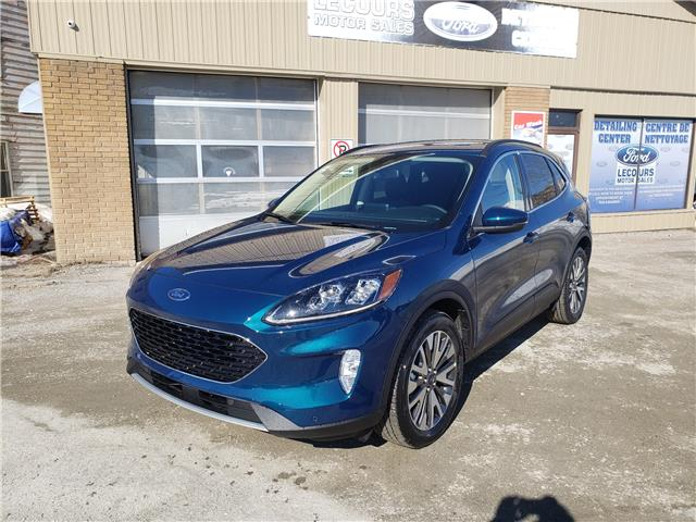 2020 Ford Escape Titanium Hybrid (Stk: 20-206) in Kapuskasing - Image 1 of 9