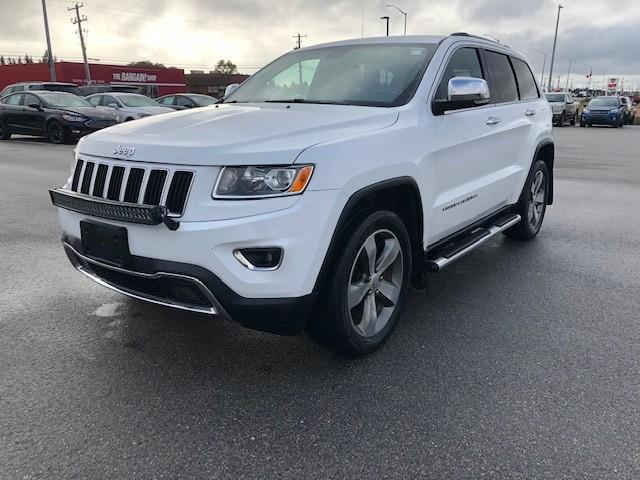 2015 Jeep Grand Cherokee Limited (Stk: U-4538) in Kapuskasing - Image 1 of 20
