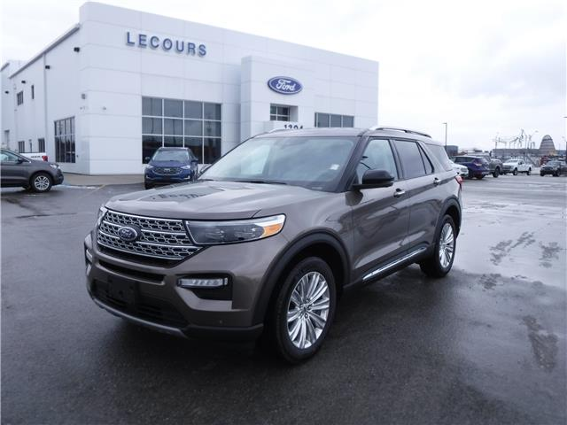 2021 Ford Explorer Limited (Stk: 21-06) in Kapuskasing - Image 1 of 11