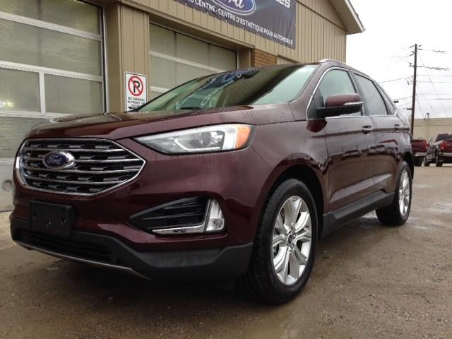 2020 Ford Edge Titanium (Stk: 20-526) in Kapuskasing - Image 1 of 13