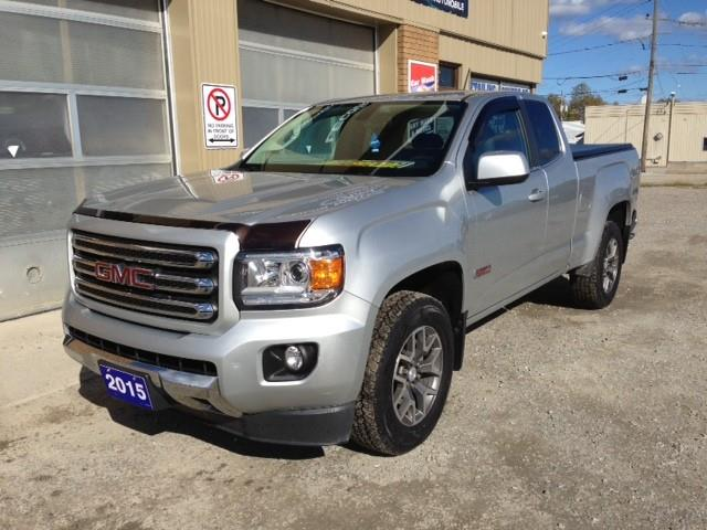 2015 GMC Canyon SLE (Stk: U-4382) in Kapuskasing - Image 1 of 12