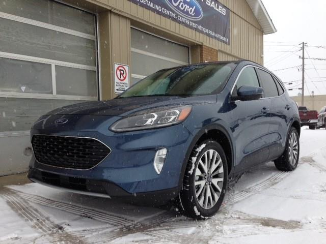 2020 Ford Escape Titanium Hybrid (Stk: 20-480) in Kapuskasing - Image 1 of 15