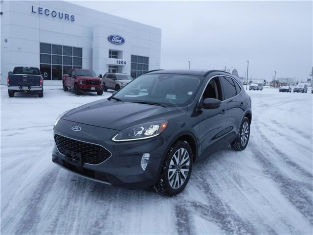 2020 Ford Escape Titanium Hybrid (Stk: 20-649) in Kapuskasing - Image 1 of 10