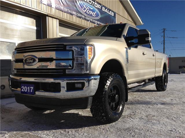 2017 Ford F-250 Lariat (Stk: U-4582) in Kapuskasing - Image 1 of 17