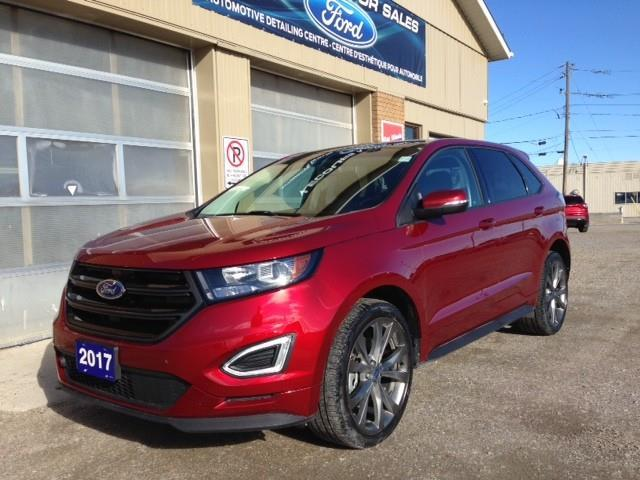 2017 Ford Edge Sport (Stk: U-4434) in Kapuskasing - Image 1 of 17