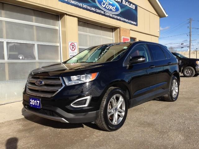 2017 Ford Edge Titanium (Stk: U-4425) in Kapuskasing - Image 1 of 17
