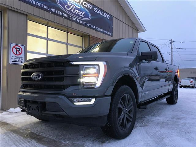 2021 Ford F-150 Lariat (Stk: 21-46) in Kapuskasing - Image 1 of 21
