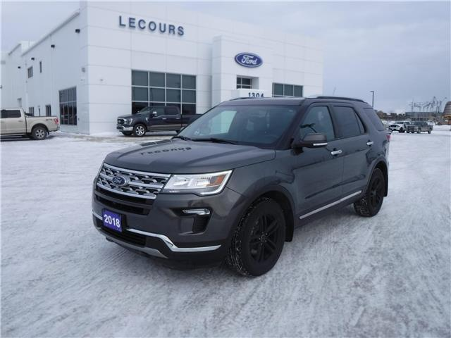 2018 Ford Explorer Limited (Stk: U-4599) in Kapuskasing - Image 1 of 13