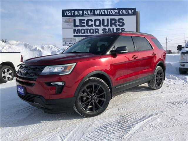 2018 Ford Explorer XLT (Stk: U-4598) in Kapuskasing - Image 1 of 15