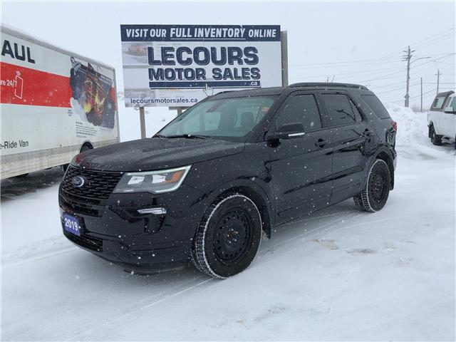 2019 Ford Explorer Sport (Stk: U-4638) in Kapuskasing - Image 1 of 19