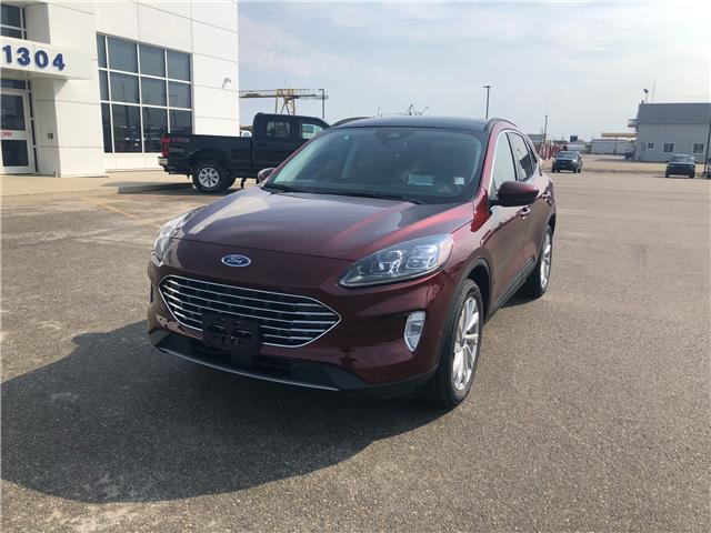 2021 Ford Escape Titanium Hybrid (Stk: 21-86) in Kapuskasing - Image 1 of 9